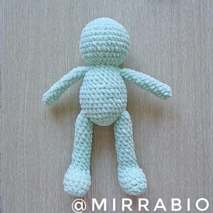 Amigurumi bunny crochet toy