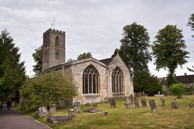 The church at the Cotswold town of Charlbury by Martyn Ferry Photography