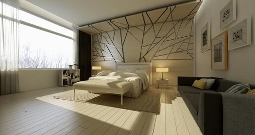 Fotos de habitaciones con paredes decoradas dormitorios - Paredes decoradas modernas ...