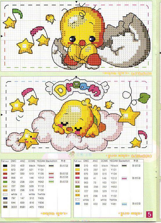 Grande raccolta di schemi e grafici per punto croce free for Punto croce bambini gratis