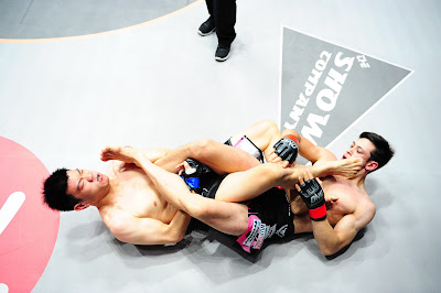Peter Davis heel stomps Leo Krishna's lip ONE FC