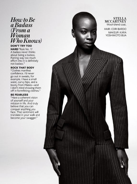 walking dead, danai gurira,in style, magazine,