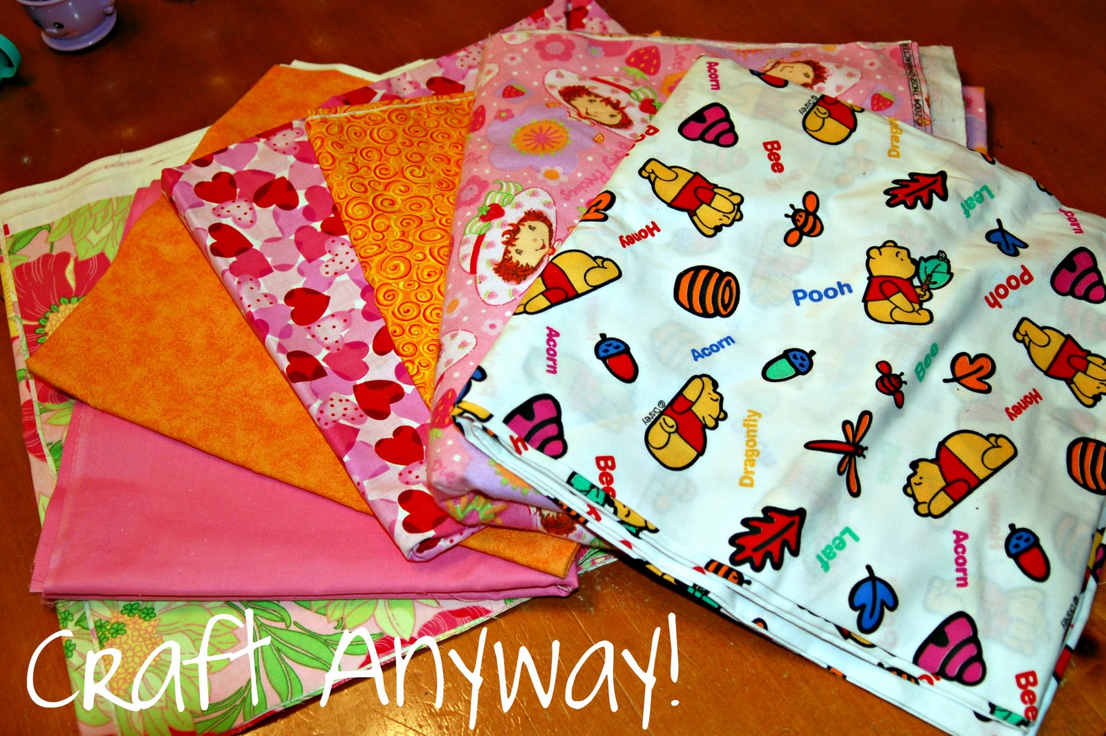 Craft anyway fabric donations giraffe grins charity for Crafts to donate to charity