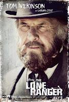 Tom Wilkinson The Lone Ranger Poster
