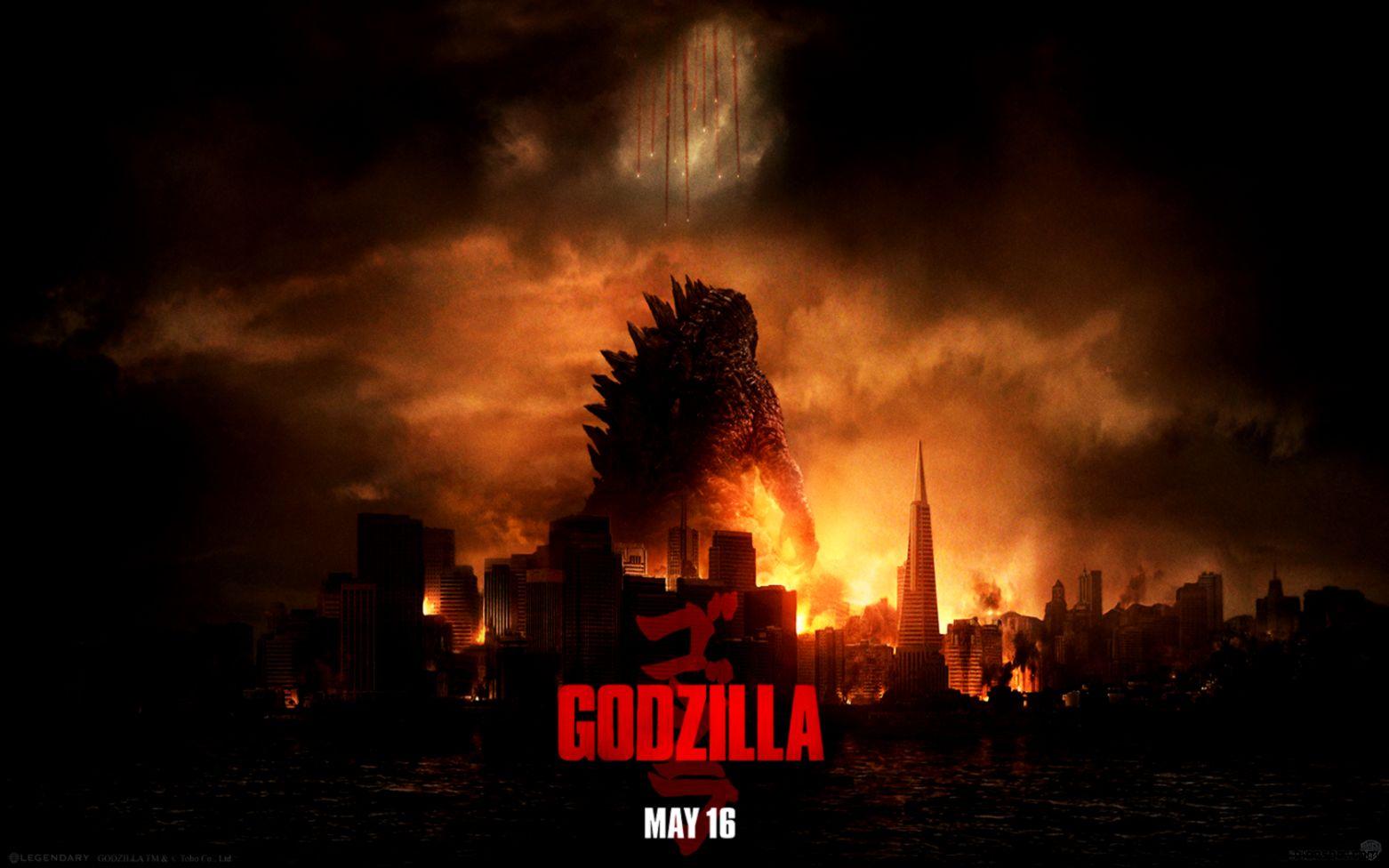 Official Godzilla 2014 HD Wallpaper   Godzilla 2014 Posters Image