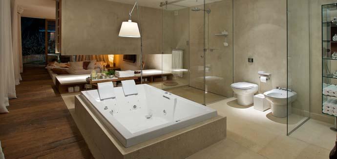 Decoração de banheiros ~ Valdarmoveiscom -> Banheiro Pequeno Spa