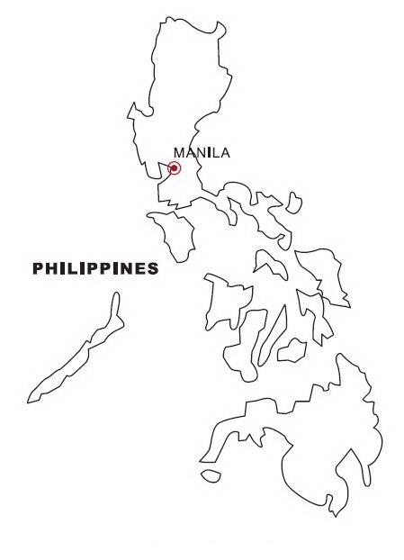 LAMINAS PARA COLOREAR - COLORING PAGES: Mapa y Bandera de Filipinas ...