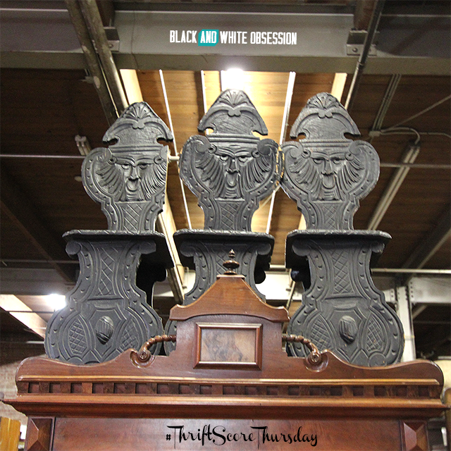 #thriftscorethursday Week 16 Antique Aztec Chairs | www.blackandwhiteobsession.com