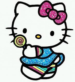 Hello Kitty, Imagenes para Imprimir, parte 1