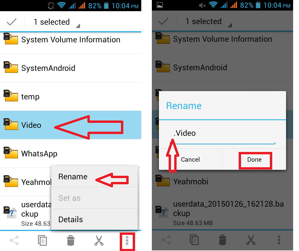 Camera How To Hide Pictures On Android Phone learn new things how to hide videos images folders in android phone without apphow apps