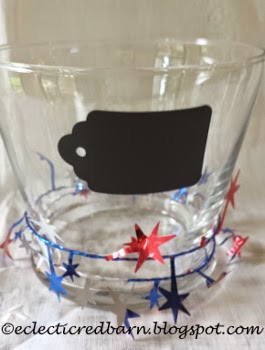 Eclectic Red Barn: 4th of July jars with labels