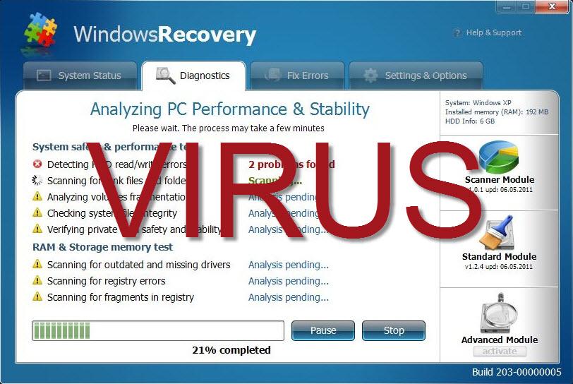 Windows Recovery