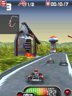 Jogo Kartmania 3D - Jogos Java