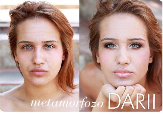Alina Rose Blog Kosmetyczny Metamorfoza Darii Makijaż Dla Zielonych