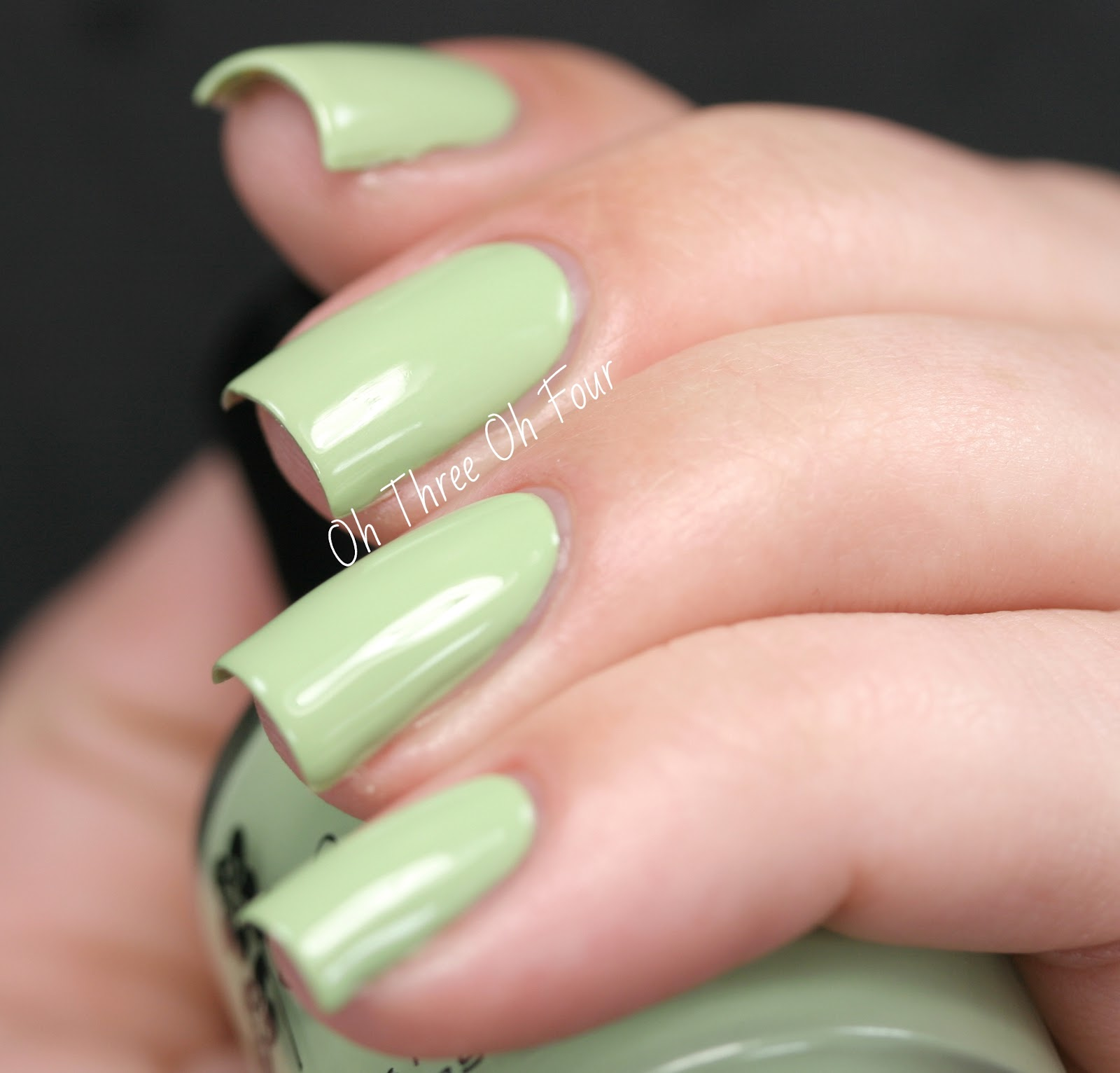 KBShimmer Honeydew List swatch