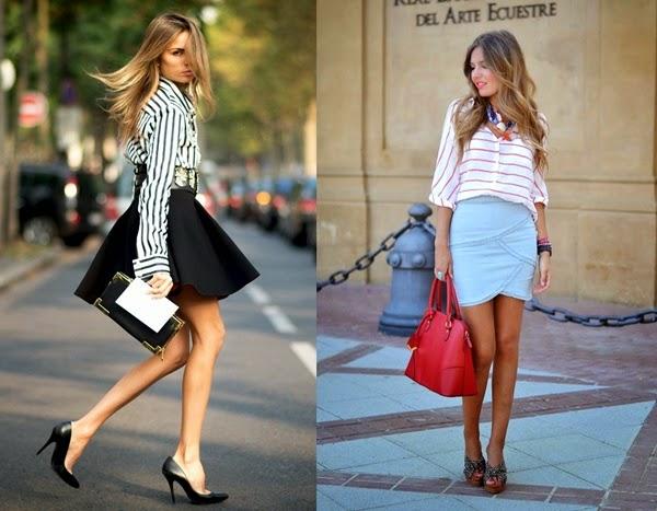 çizgili-gömlek-modası