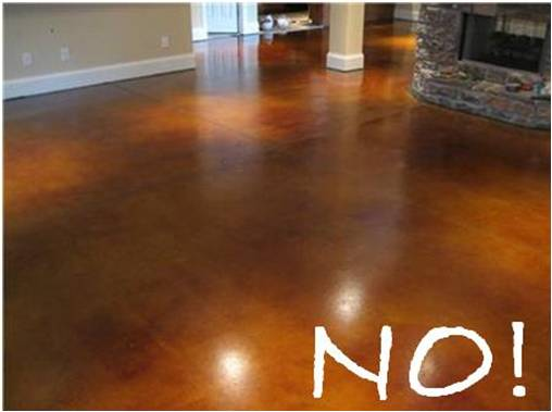 Painting Concrete Floors To Look Like Wood WB Designs