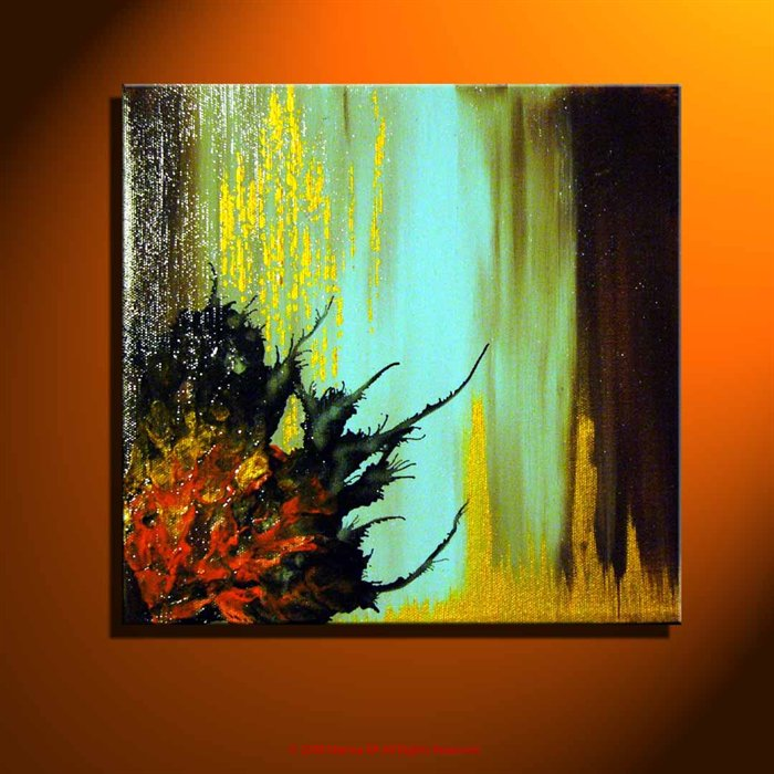 Imagination painting acrylic painting for Using acrylic paints