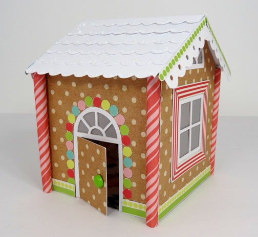 Popper and Mimi: Gingerbread House Gift Box