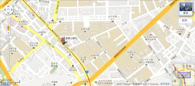 虹約彼拉提斯教室地圖