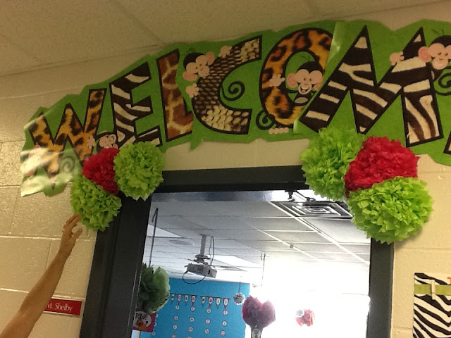 Classroom Door Ideas Jungle ~ Are you a visual learner queen of the first grade jungle