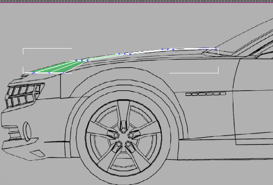 How to modeling 3d car camaro 2010 target weld those separate vertexd you have to remove edge which did not correct and cut the face or conect among edges to add additional edges to malvernweather Choice Image