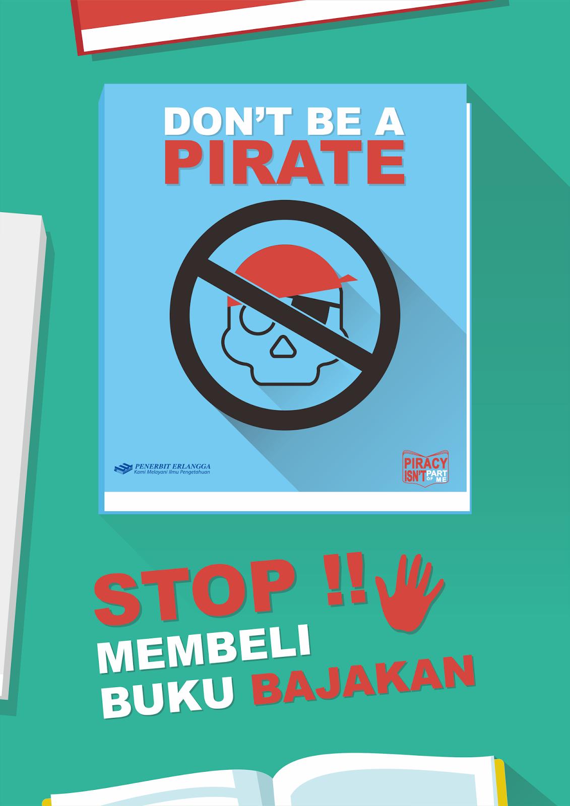 Stop Pembajakan Poster
