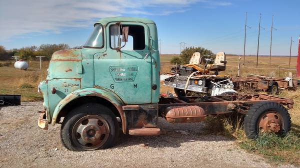 1956 Dodge Model H Cabover Truck Old Truck