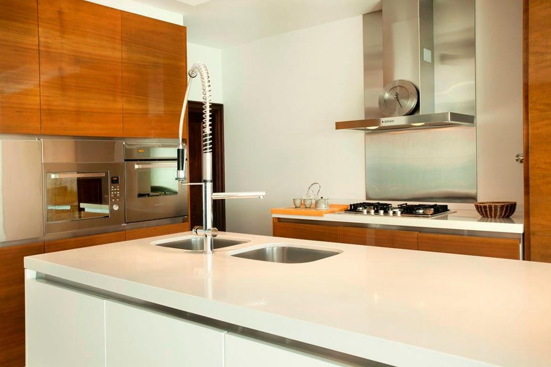 Una isla de cocina casi imprescindible cocinas con estilo - Cocinas rectangulares ...
