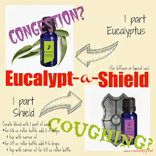created2fly.net: Eucalypt-a-Shield - a diffuser blend and topical blend for cough and congestion