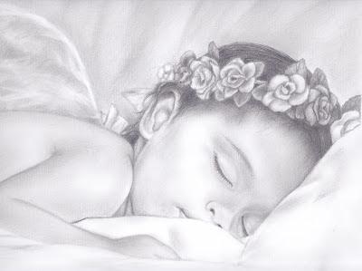 Baby Angel Drawings