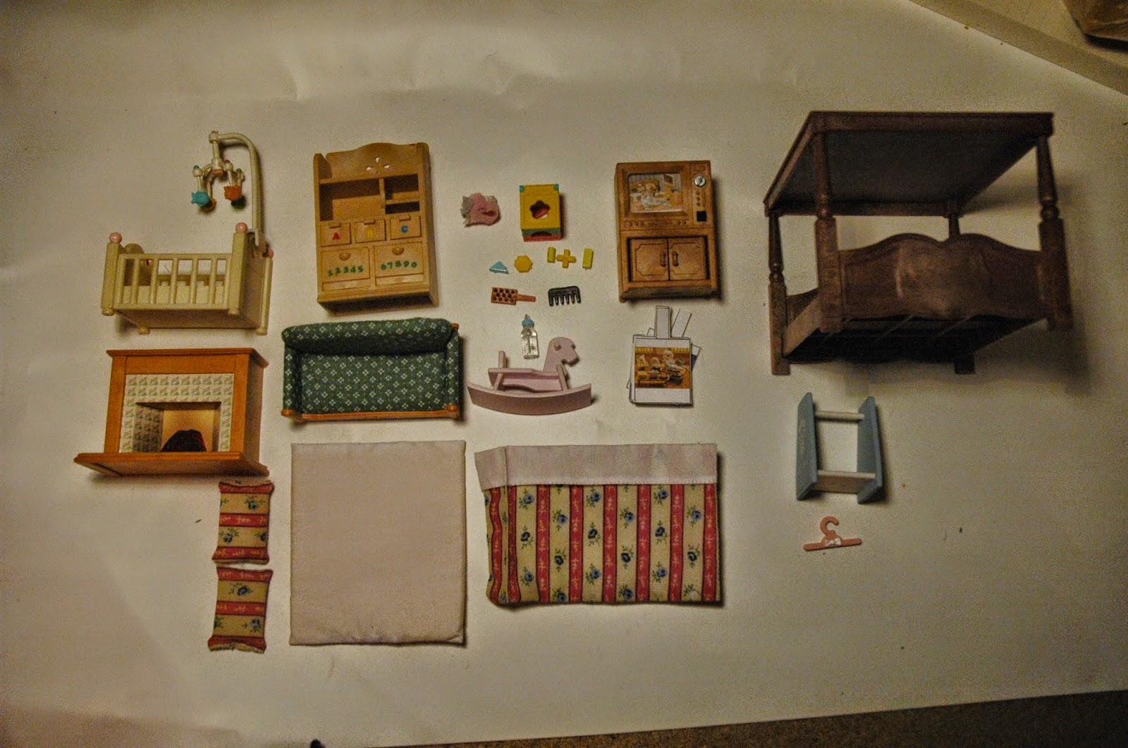 Sylvanian Families Bedroom Furniture Set Butterfly Lullaby Sharon J Bainbridge Sylvanian Families Hotel