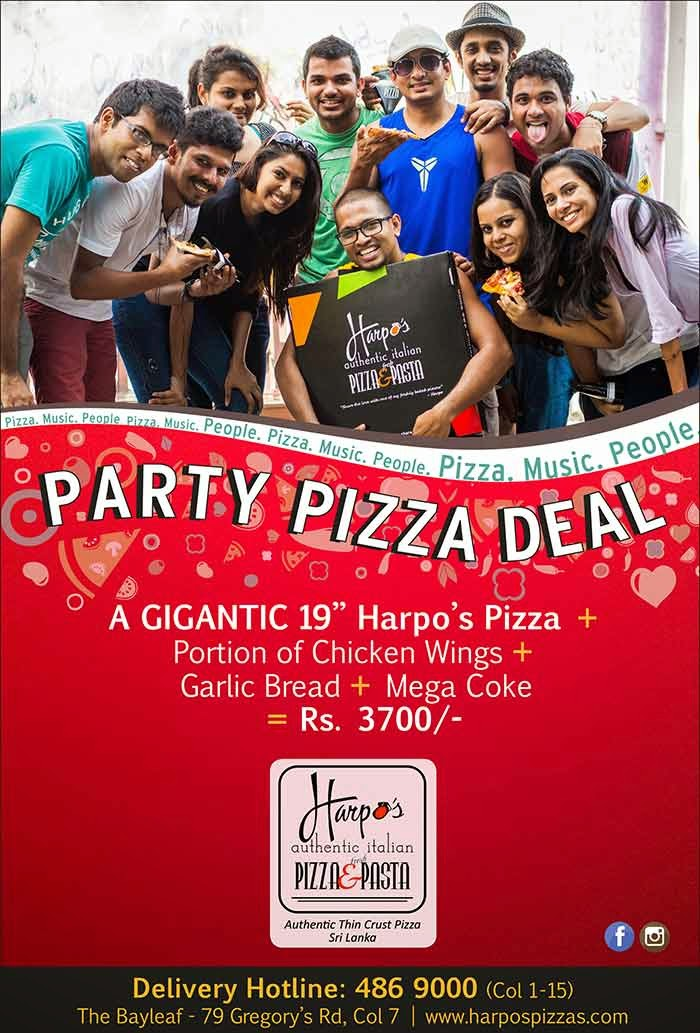 Harpos Pizza offers the best authentic Italian thin crust pizzas and now has the pleasure of presenting homemade wood fired pizzas for all to enjoy.