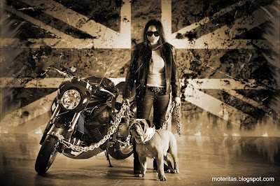 Vliner-girl-Triumph-Speed-Tripple-Bulldog-wallpaper-free