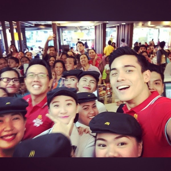 Xian Lim for McDo National Breakfast Day