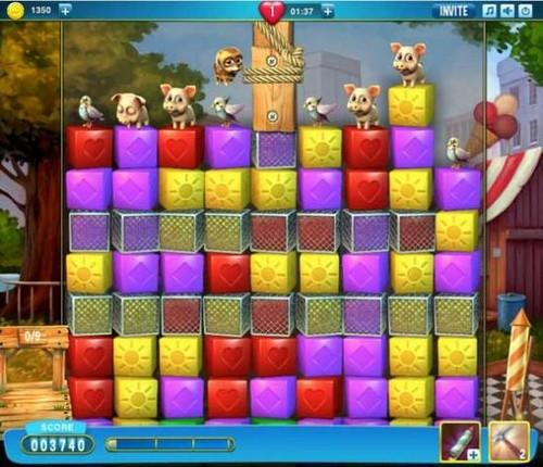Truco: Más vidas en Candy Crush Jugando otros juegos en Facebook