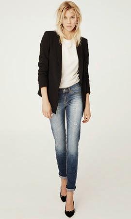 Suiteblanco coleção jeans & denim outono inverno 2014 blazer