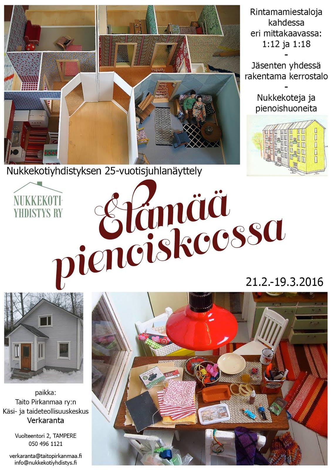 Näyttely 21.2.-19.3.2016 Tampereella
