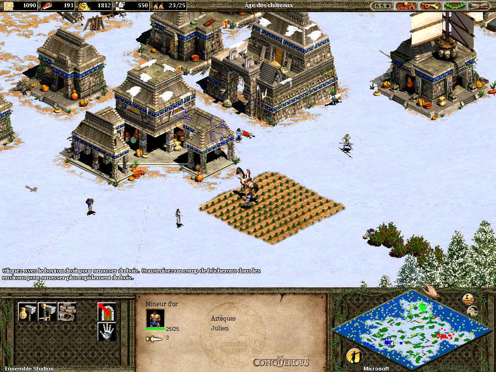 Free Download Game Age of Empires 2: The Conquerors Expansion (PC)