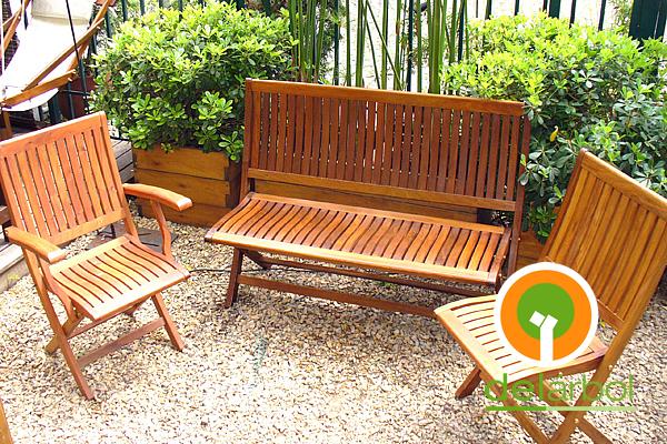 Del arbol f brica de muebles de madera bancos y sillas for Fabrica de muebles de madera