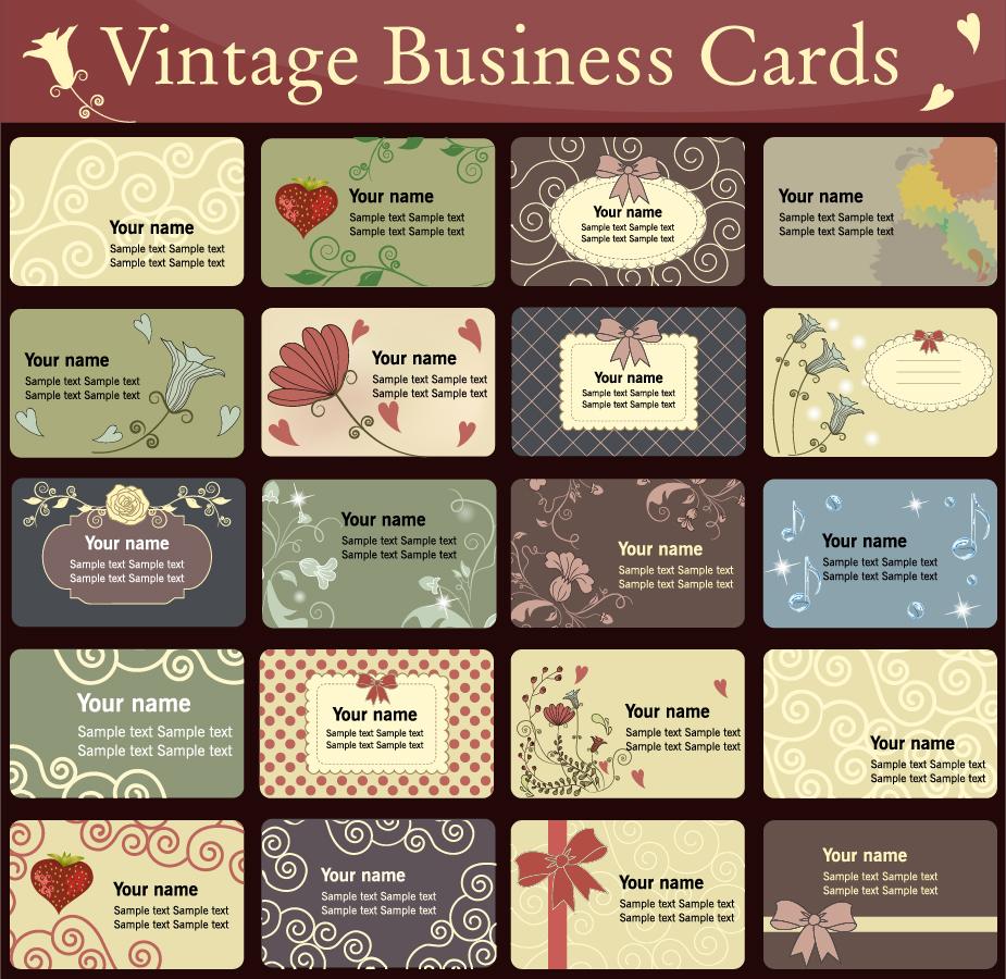 シンプルでエレガントな名刺テンプレート simple and elegant business card template イラスト素材