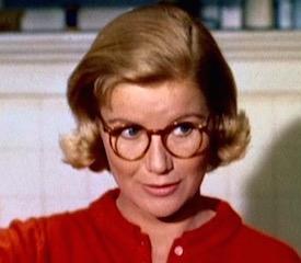 Barbara Bel Geddes as Midge in Hitchcock's Vertigo