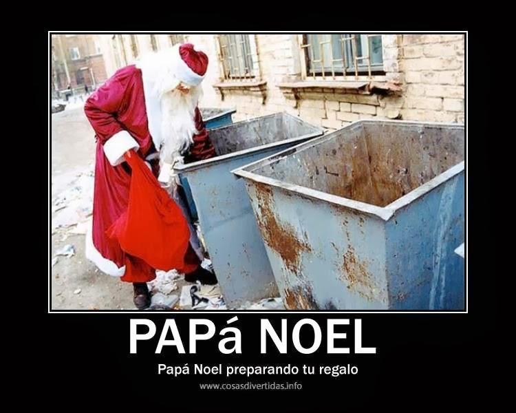 Papá Noel humor tu regalo