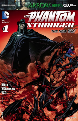 Cover A of The Phantom Stranger from DC Comics