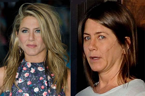Anna Faris And Jennifer Aniston Without Makeup ...