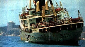 US ENRECORDEU DE L'EMBARRANCADA DEL BENSU A LA BADIA DE PALAMÓS L'ANY 1979?