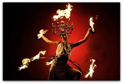 Игры с огнем: огненная Мидея