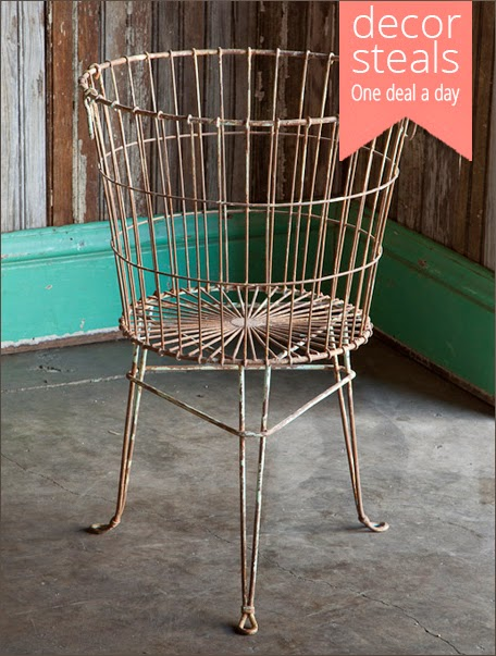 Standing Wire Basket | Savvy Southern Style Decor Steals Giveaway
