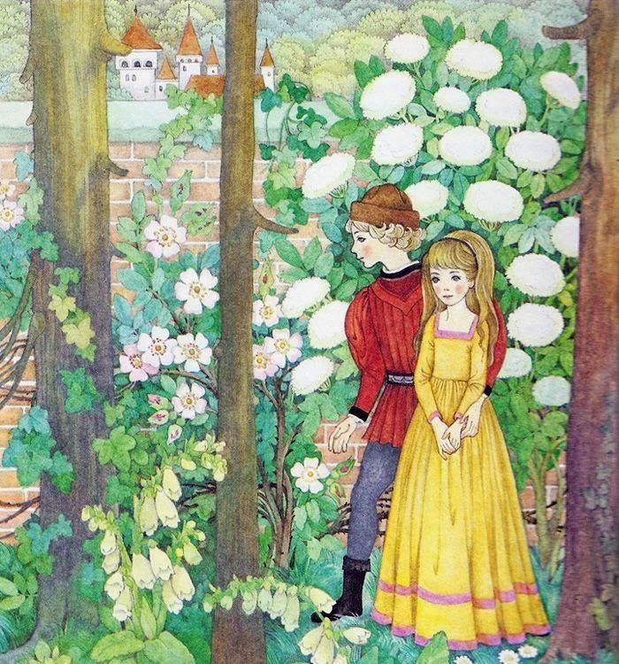 Lilia ha parlato della sua arte e delle fiabe da lei illustrate