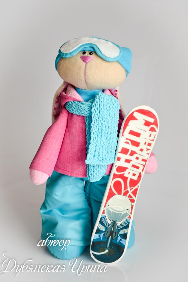 Как сделать игрушечный сноуборд